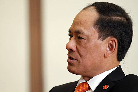 Association of Southeast Asian Nations Secretary-General Le Luong Minh on Nov. 11, 2014. Mr. Minh said Asean would speed up talks to establish a code of conduct on how to resolve overlapping territorial claims in the region.