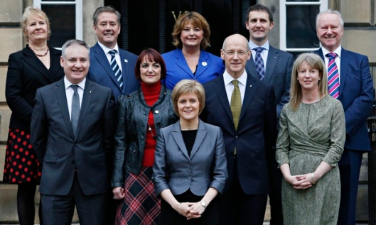 Despite her gender balanced cabinet, Nicola Sturgeon has failed to see equality in her candidates